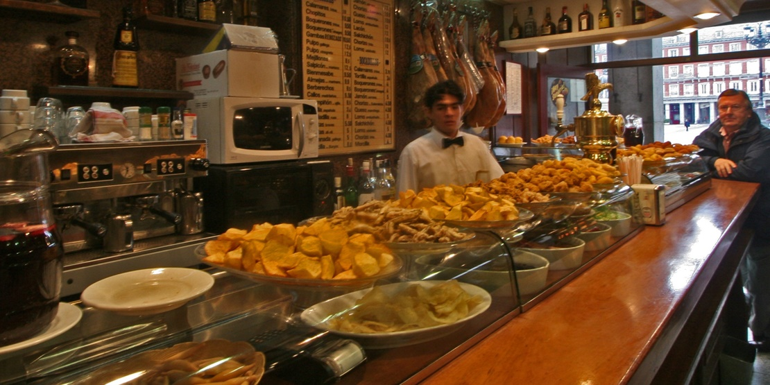 Image gallery madrid food and drink for Manolo food bar queretaro
